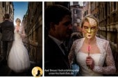 Wer steckt hinter der Maske - After-Wedding-Shooting in Venedig