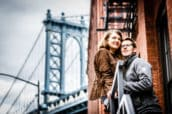 Manhattan Bridge - After-Wedding in New York
